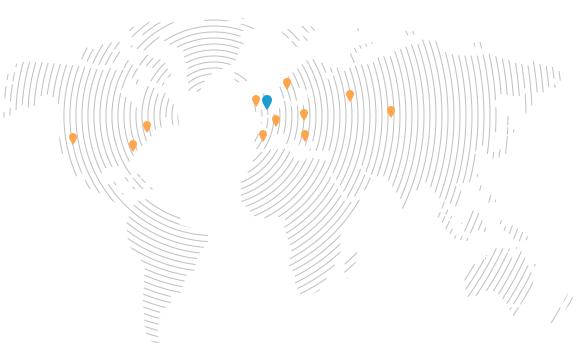 Millitec clients map