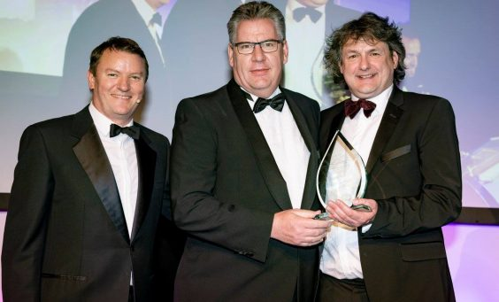 Millitec awards sandwhich manufactturer award to Bradgate Bakery