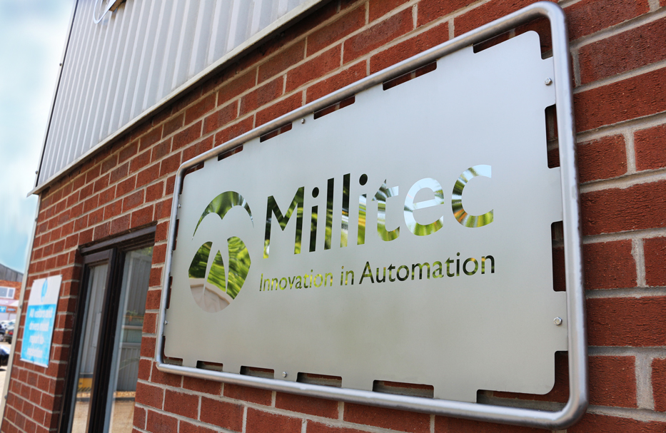 Millitec Metal Sign