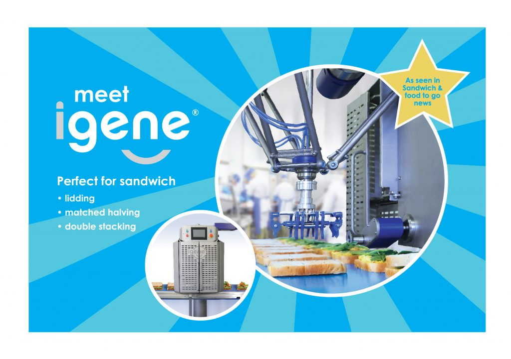 meet igene, perfect for lidding, matched halving and double stacking