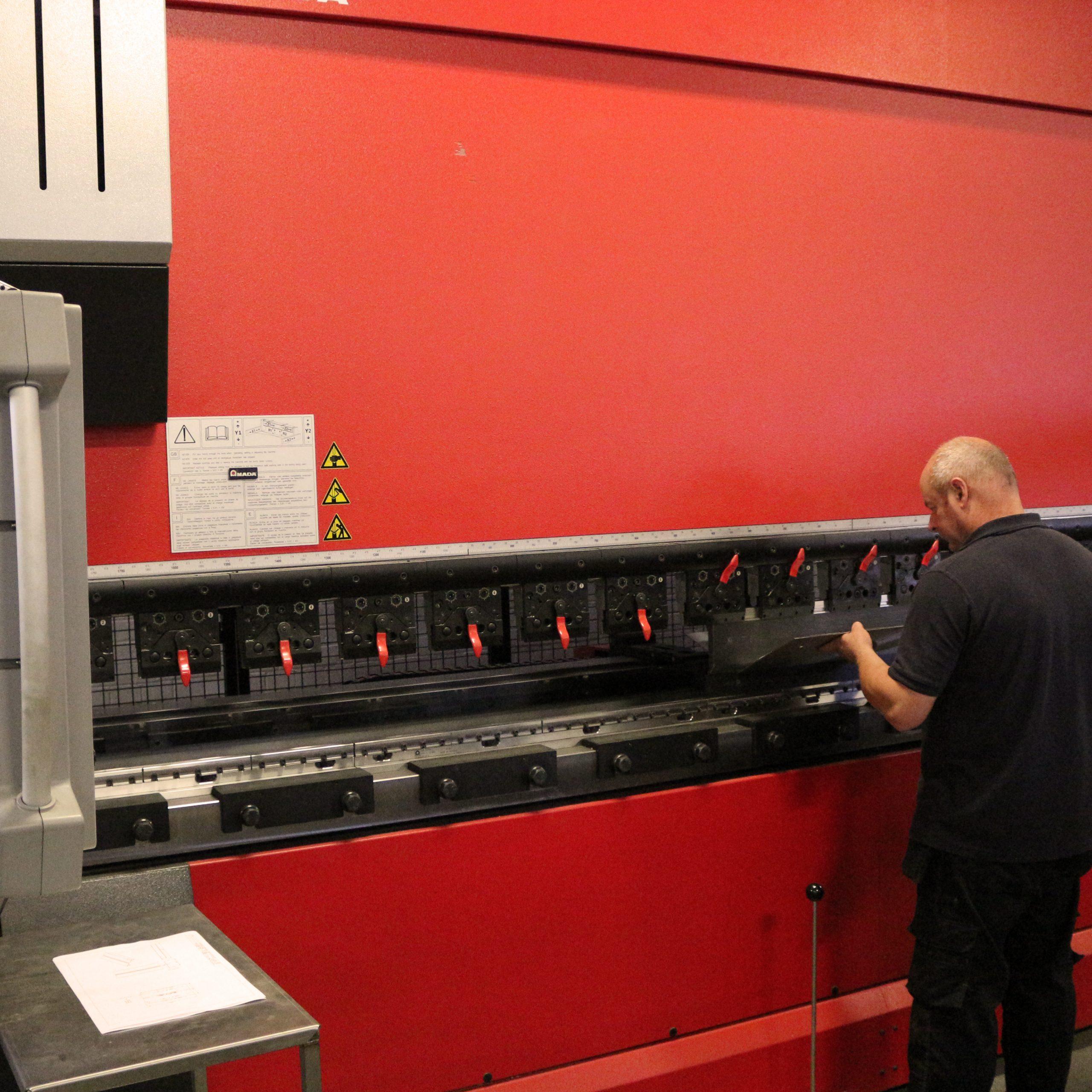 AMADA folding press