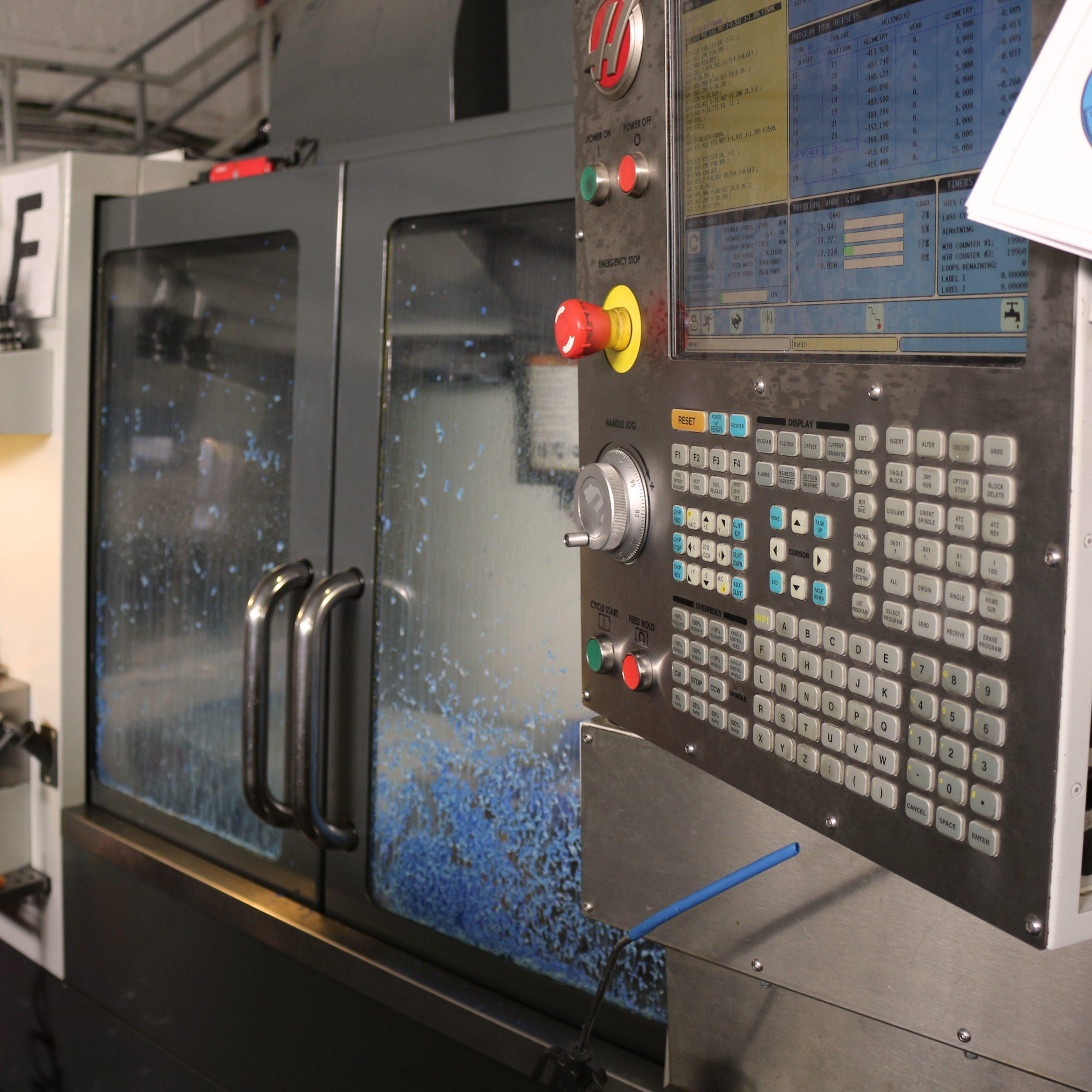machine shop production